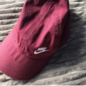 Maroon Nike Hat